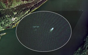 Loch Ness Monster on Google Earth?