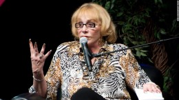 Psychic medium and author Sylvia Browne speaks to the audience during her appearance at Route 66 Casino's Legends Theater on November 13, 2010 in Albuquerque, New Mexico / CNN