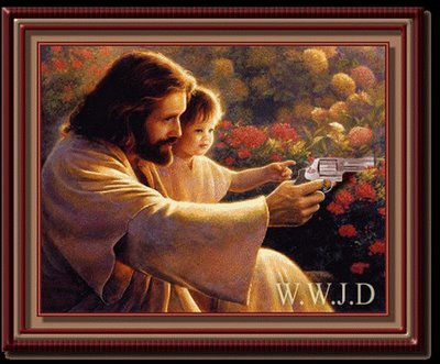 What Would Jesus Do ... with a gun?