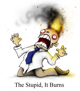 The Stupid It Burns / plognark