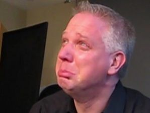 Glenn Beck crying & pouting - boo freaking hoo, poor little Glennie!