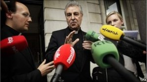 Papal Nuncio Giuseppe Leanza has been called back to Rome to discuss the impact of the recent Cloyne Report / BBC