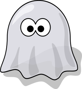 Cartoon ghost / lemmling