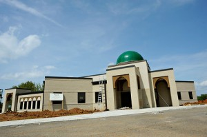 Construction at the Islamic Center of Murfreesboro in Tennessee in July, 2012 (Stephen Lance Dennee/Associated Press, via the New York Times)