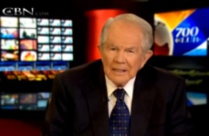 Pat Robertson / Mediaite / Pat Robertson Concludes Sikh Temple Shooting Because 'Atheists Hate God'