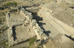 Francesco D'Andria / The remains of the site in Pamukkale, Turkey / via Digital Spy
