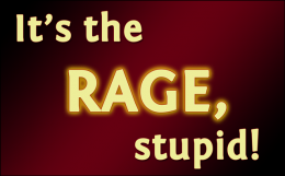 'It's the rage, stupid!' / PsiCop original graphic