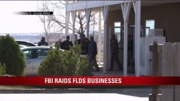 'FBI raids FLDS businesses' / KSTU-TV