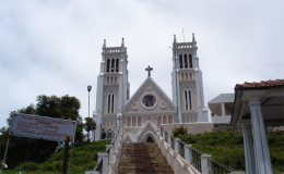 SACRED HEART CATHEDRAL, OOTY, via Diocese of Ootacamund Web site