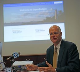CT Comptroller Kevin Lembo / CT News Junkie file photo