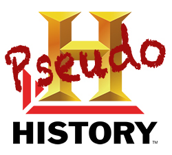 Pseudohistory Channel' Logo (modified from 'History Channel' logo)