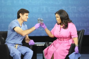 Dr. Mehmet Oz was a regular guest on 'The Oprah Winfrey Show' before launching his own show, which averages 3.7 million viewers daily. (George Burns, Harpo Productions, Inc)