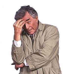 Columbo facepalm, via Butterfunk