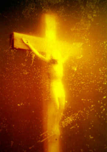 Piss Christ photograph by Andres Serrano (1987)