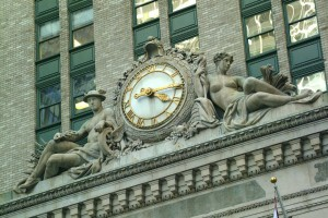 Clock, Midtown, New York City (Ian Britton)