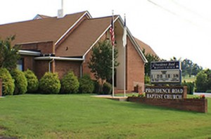 Providence Road Baptist Church in Maiden, NC (from PRBC Web site)