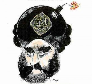 Jyllands-Posten Muhammad cartoon, via Assyrian International News Agency