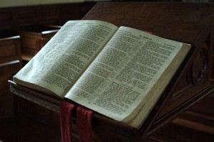 Picture of a Bible / Ian Britton, via FreeFoto