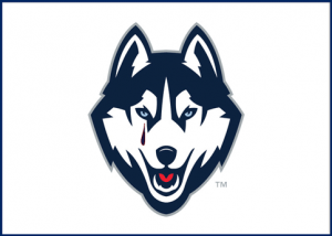 The UConn Husky cries / PsiCop graphic, based on UConn logo by Nike