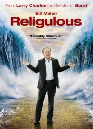 US DVD cover for Religulous, via MoviePosterDB