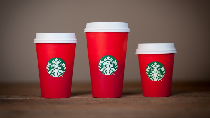 Starbucks christmas cups for 2015, via Jezebel