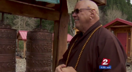 Monk attacked / KVAL-TV