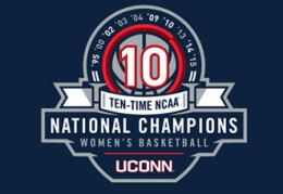'Ten time NCAA National Champions in Women's Basketball: UCONN' / via TrueBlueUConn