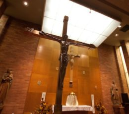 Bergen Catholic Chapel, via Bergen Catholic High School Web site