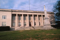 Rutherford Cty (NC) Court House / via North Carolina Court System Web site