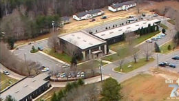 Word of Faith Fellowship Church grounds in Rutherford County, N.C. / CBS affiliate WSPA