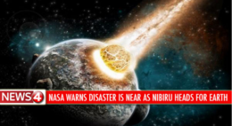 'NASA warns disaster is near as Nibiru heads for Earth' / satire site News4KTLA, via Snopes