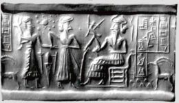 Sumerian seal / via Doug's Darkworld